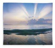 Neptune Step. Fleece Blanket
