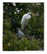 Nest Lookout Fleece Blanket