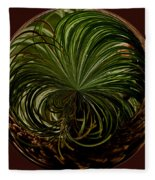 Nesting Pine Orb Fleece Blanket