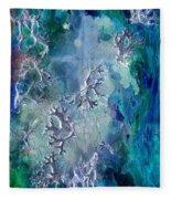 Neuronal Lunar Essence Fleece Blanket