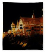 Neuschwanstein Castle_4 Fleece Blanket