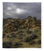 Nevada Desert Skies Fleece Blanket