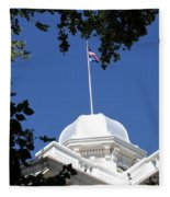 Nevada State Capitol Fleece Blanket