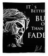 Never Fade Away Fleece Blanket