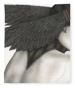 Nevermore Fleece Blanket
