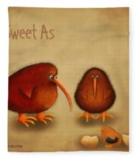 New Arrival. Kiwi Bird - Sweet As - Boy Fleece Blanket