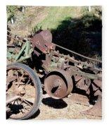 New Crop Antiquated Plow Fleece Blanket