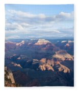 New Day At The Grand Canyon Fleece Blanket