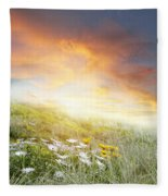 New Day Dawn Fleece Blanket