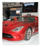 New Dodge Viper Fleece Blanket
