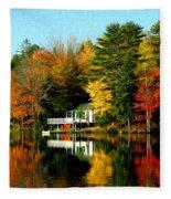 New England Fleece Blanket