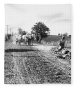 New England Road, C1910 Fleece Blanket
