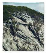 New Hampshire Ledge Fleece Blanket