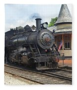 New Hope Station Fleece Blanket