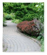 Frelinghuysen Arboretum Path Fleece Blanket