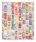 New Jersey Traffic Jam Fleece Blanket