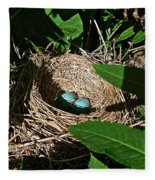 New Life - Robin's Nest Fleece Blanket