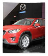 New Mazda Model Fleece Blanket