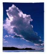 New Mexico Sky Fleece Blanket
