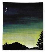 New Moon Fleece Blanket