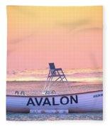 New Morning In Avalon Fleece Blanket