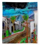 New Old Town La Quinta Fleece Blanket