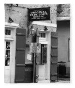 New Orleans - Bourbon Street 15 Fleece Blanket
