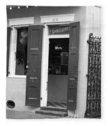 New Orleans - Bourbon Street 17 Fleece Blanket