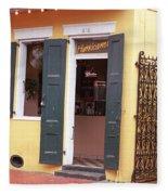 New Orleans - Bourbon Street 2 Fleece Blanket