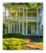 New Orleans Home - Paint Fleece Blanket