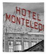 New Orleans - Hotel Monteleone Fleece Blanket