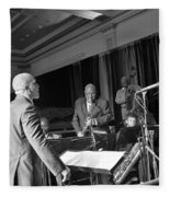 New Orleans Jazz Orchestra Fleece Blanket