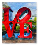 New Orleans Love 2 Fleece Blanket