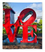 New Orleans Love Fleece Blanket