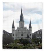 New Orleans Fleece Blanket
