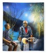 New Orleans Nights 02 Fleece Blanket