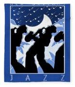 New Orleans Vintage Jazz And Heritage Festival 1980 Fleece Blanket