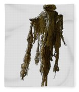New Photographic Art Print For Sale   Day Of The Dead Skeleton On A Stick Fleece Blanket