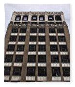 Vacant Downtown Building Los Angeles 3 Fleece Blanket