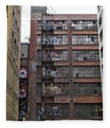 New Photographic Art Print For Sale Downtown Los Angeles 5 Fleece Blanket