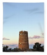 New Photographic Art Print For Sale Indian Watchtower At Grand Canyon Fleece Blanket