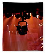 New Photographic Art Print For Sale Lights Camera Action Backstage At The American Music Award Fleece Blanket