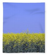 New Photographic Art Print For Sale Yellow English Fields 2 Fleece Blanket