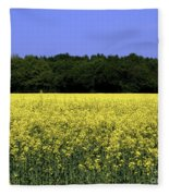 New Photographic Art Print For Sale Yellow English Fields Fleece Blanket