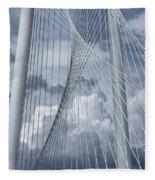 New Skyline Bridge Fleece Blanket