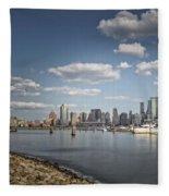 New World Trade Center Fleece Blanket