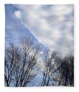 New Years Day Sunrise 2014 Fleece Blanket