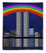New York City Better Days 2 Fleece Blanket