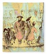 New York City Jews - Fine Art Fleece Blanket