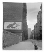 New York City Soho, 1942 Fleece Blanket